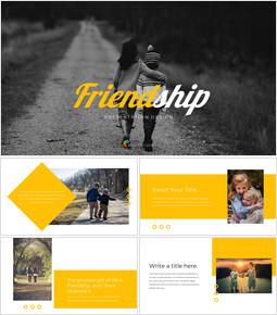 Friendship template design_35 slides