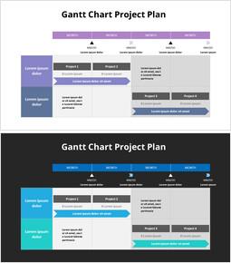 Gantt Chart Project Plan_2 slides