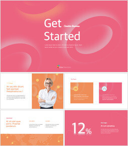 Inizia modello di business creativo Creative Keynote_00