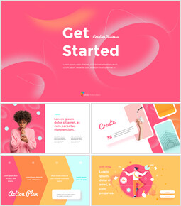 Get Started Creative Business Template Modern PPT Templates_00
