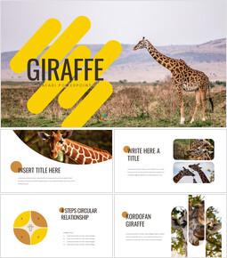 Giraffe Best Google Slides_40 slides