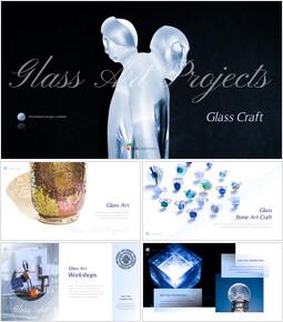 Glass Craft Powerpoint Presentation_37 slides