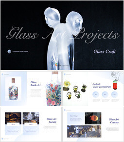 Glass Craft Theme Keynote Design_37 slides