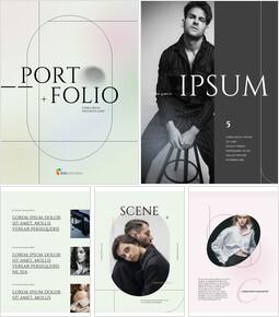 Gradation Concept Portfolio Best PowerPoint Templates_26 slides