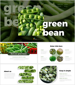 Green Bean Google Slides for mac_40 slides