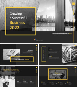 Growing a Successful Business 2021 Best Keynote_50 slides