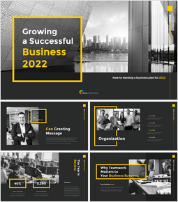 Growing a Successful Business 2021 Business Strategy PPT_50 slides