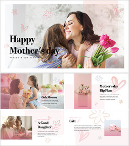 Happy Mothers day Apple Keynote Template_50 slides