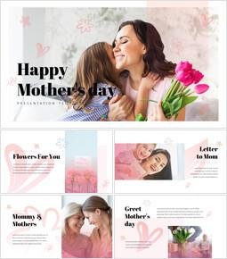 Buona festa della mamma Presentazioni di PowerPoint Campioni_50 slides