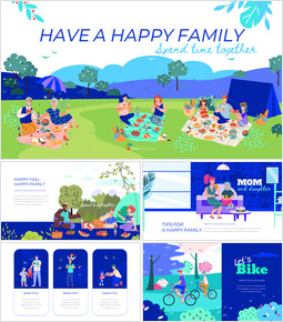 Have a Happy Family Google Slides Presentation_50 slides
