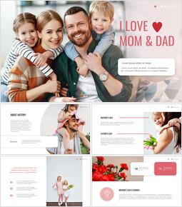 I ♥ Mom & Dad Google Slides mac_35 slides