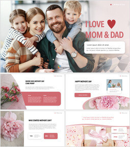 I ♥ Mom & Dad Keynote Presentation Template_35 slides
