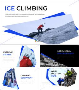 Ice Climbing Google Docs PowerPoint_35 slides