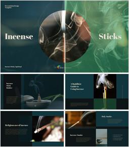 Incense Sticks slideshare ppt_40 slides