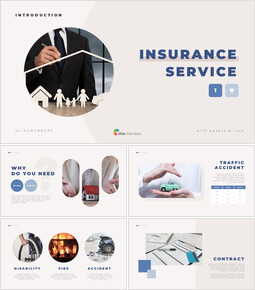 Insurance Service Business plan PPT Templates_00