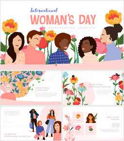 International Womens Day Modern PPT Templates_00
