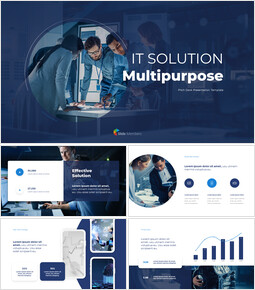 IT Solution Multipurpose powerpoint animation template_00