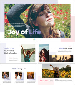 Joy of Life PPT Templates_00