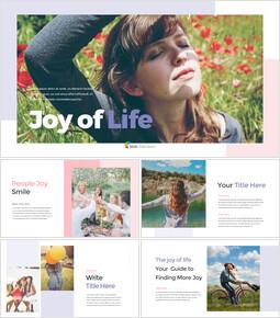 Joy of Life presentation slide_40 slides