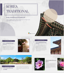 Korea Traditional Google PowerPoint Presentation_40 slides