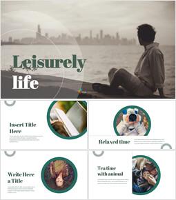 leisurely life Google PowerPoint Presentation_39 slides