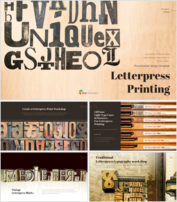 Letterpress Printing Business Presentation PPT_35 slides