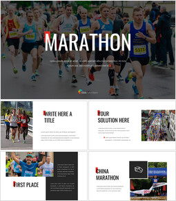 Marathon Google Slides Templates_40 slides
