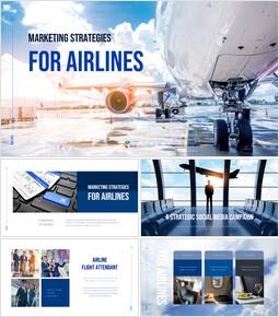 Marketing Strategies for Airlines presentation slide_50 slides