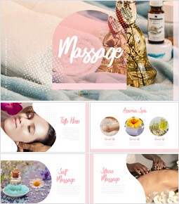Massaggio Miglior modello di presentazione_35 slides