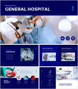 Medical Report - General Hospital Google Presentation Slides_50 slides