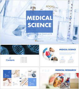 Medical science - Keynote Template Free_9 slides