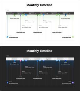 Monthly Timeline_2 slides