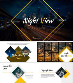 Night View Google Slides Themes & Templates_40 slides