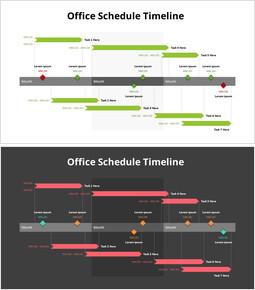Office Schedule Timeline_2 slides