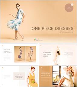 One Piece Dresses Business plan PPT Download_35 slides
