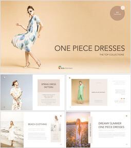 One Piece Dresses Creative Keynote_35 slides