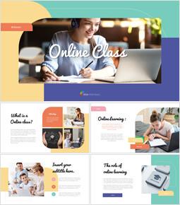 Online Class Business plan PPT_35 slides