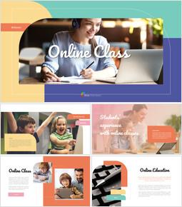 Online Class Easy Google Slides_35 slides