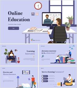 Online Education Multipurpose Keynote Template_50 slides