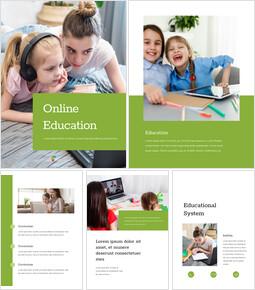 Online education slideshare ppt_25 slides