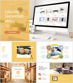 Online-Einkaufszentrum Keynote-Präsentation_50 slides