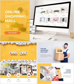 온라인 쇼핑몰 PPT 포맷_50 slides