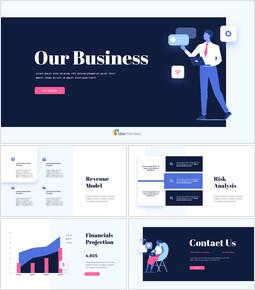 Our Business Proposal building a pitch deck_13 slides