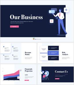 私たちのビジネス提案 キーノートのテーマ_13 slides