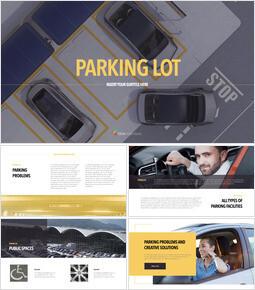 Parking Lot Keynote Templates for Creatives_35 slides