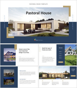 Pastoral House Keynote PowerPoint_40 slides