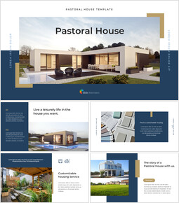 Pastoral House PowerPoint Design_40 slides