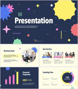 Pattern Creatively Pitch Deck Firmenprofil ppt Vorlage_13 slides