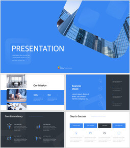 Pitch Deck Simple Presentation Template PowerPoint to Keynote_00