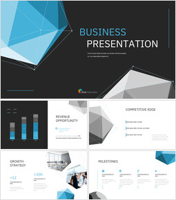Polygon Background Business Presentation investor pitch presentation ppt_13 slides